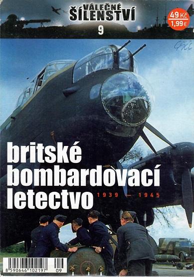 Válečné šílenství 9 - britské bombardovací letectvo ( pošetka ) - DVD