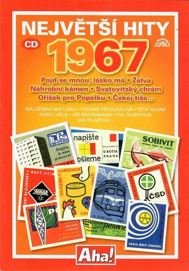 Největší hity 1967 ( pošetka ) - CD