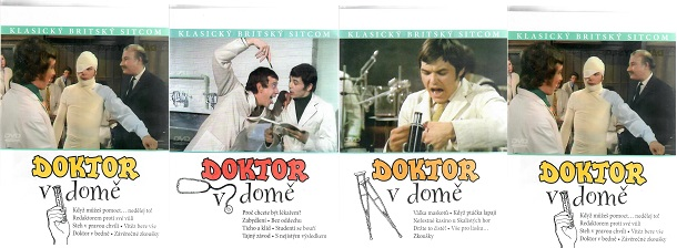 Doktor v domě - 1. a 2. řada - 4x DVD plast