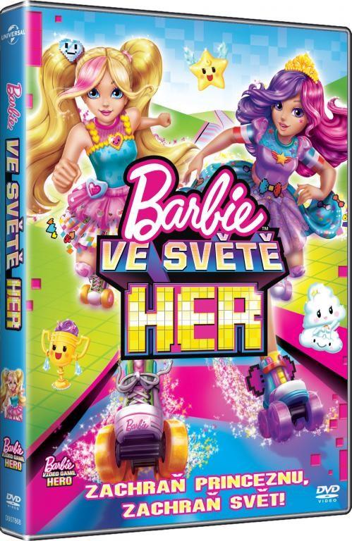 Barbie ve světě her - DVD (plast)