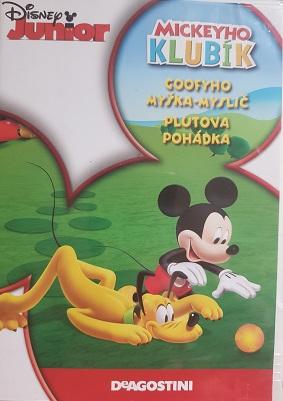 Mickeyho klubík Goofyho myška-myslič - DVD plast
