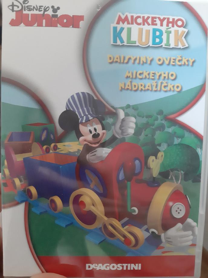 Mickeyho klubík Daisyiny ovečky - DVD plast