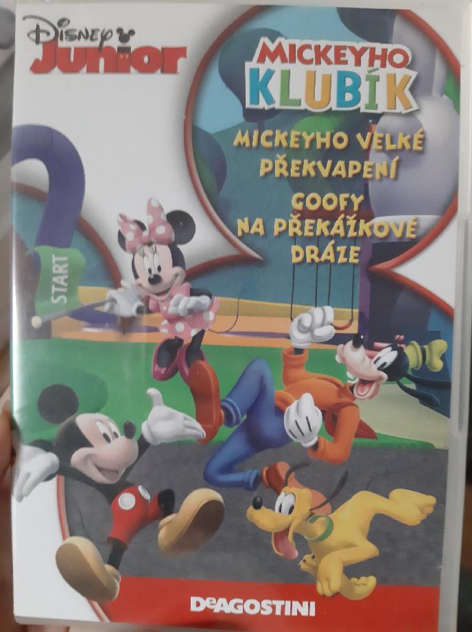 Mickeyho klubík Mickeyho velké překvapení - DVD plast