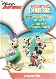 Mickeyho klubík Peteova havajská oslava - DVD plast