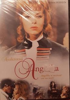 Nezkrotná Angelika-DVD plast