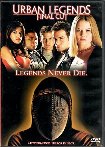 Urban Legends: Final Cut / Temná legenda 2 ( originální znění BEZ titulků CZ ) plast DVD
