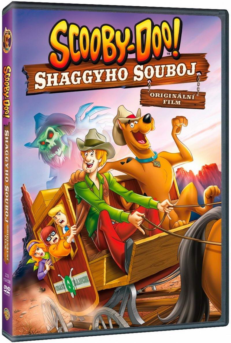 Scooby Doo: Shaggyho souboj-DVD plast