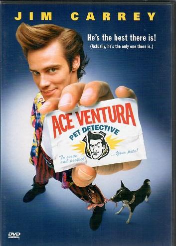 Ace Ventura: Zvířecí detektiv ( originální znění, titulky CZ ) plast DVD