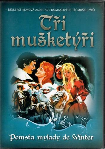 Tři mušketýři: Pomsta Milady de Winter ( plast ) DVD