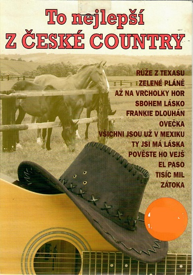 To nejlepší z české country ( bazarové zboží ) pošetka DVD