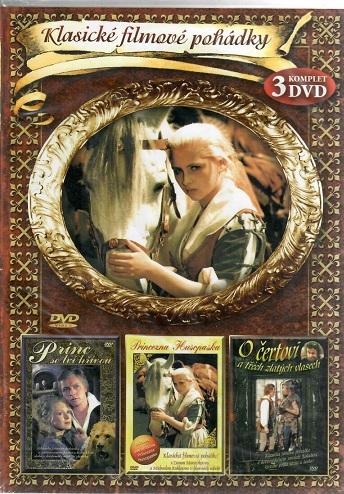 3x DVD Box Klasické filmové pohádky ( plast ) - 3DVD
