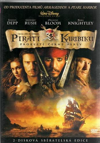 Piráti z Karibiku: Prokletí černé perly 2-disková edice ( plast ) DVD