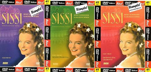 Kolekce Sissi - 3x DVD ( Rommy Schneider )