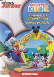 Mickeyho klubík Clarabellin zábavný park, Donald na měsíc - DVD plast