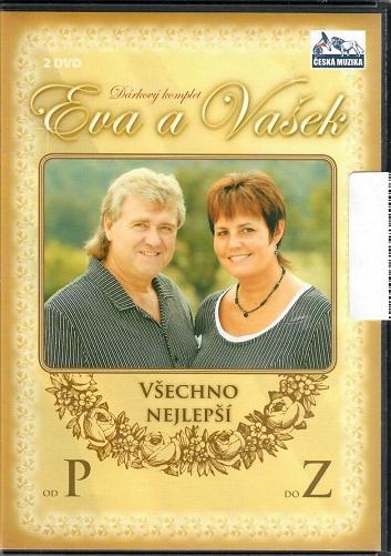 Eva a Vašek: 2x DVD Všechno nejlepší od P do Z ( plast ) DVD