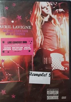 Avril Lavigne-DVD plast