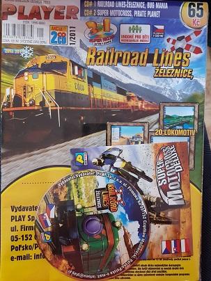 PC hra Railroad Lines/Železnice/ 2 CD