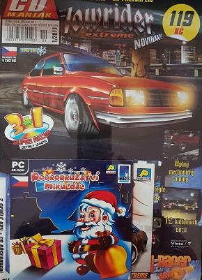 PC hra : 2X hra + CD překvapení/lowrider+Dobrodružství Mikuláše