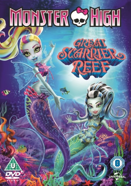 Monster High: Great scarrier reef-DVD plast