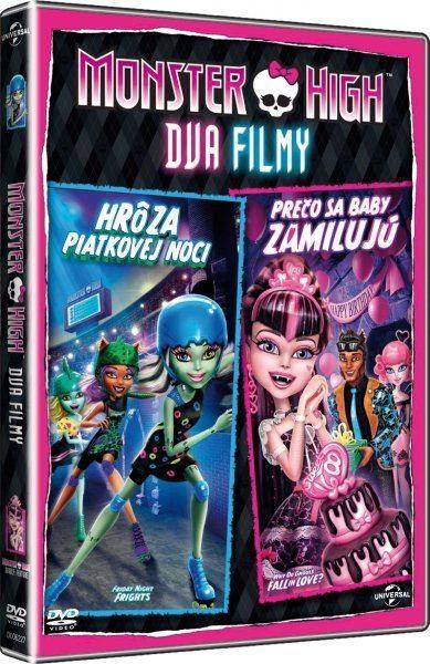 Monster High: Proč se příšerky zamilovávají & Hrůzy páteční noci-DVD plast
