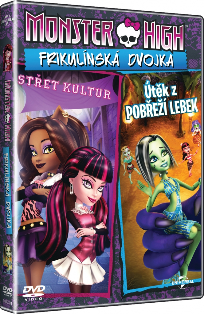 Monster High: Frikulínská dvojka-DVD plast