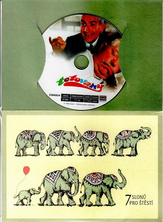 Tetovaný ( dárkový papírový obal ) DVD