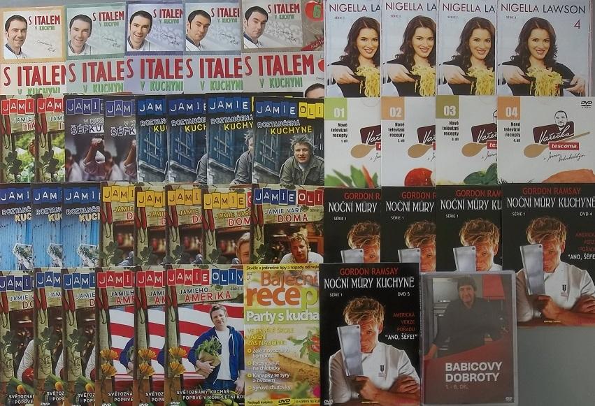 Velká kolekce Vaření -  42x DVD