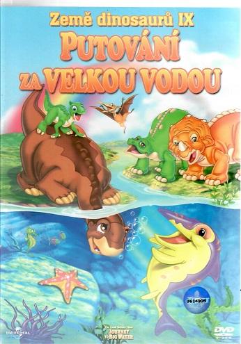 Země dinosaurů IX: Putování za velkou vodou ( plast ) DVD
