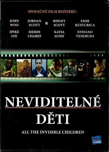 Neviditelné děti ( originální znění ) plast DVD