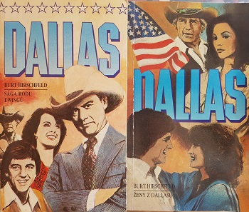 Dallas-Burt Hirschfeld- 2 knihy/bazarové zboží/