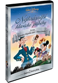 Walt Disney: Nejkrásnější klasické příběhy 1 ( plast ) DVD