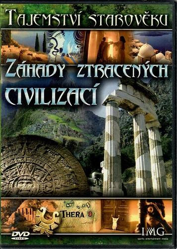 Tajemství starověku - Záhady ztracených civilizací - slim DVD