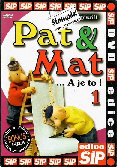 Pat a Mat 1 ( pošetka ) DVD