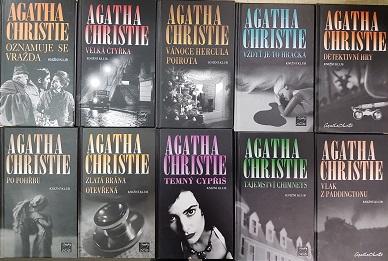 Kolekce Agatha Christie 10 knih /bazarové zboží/