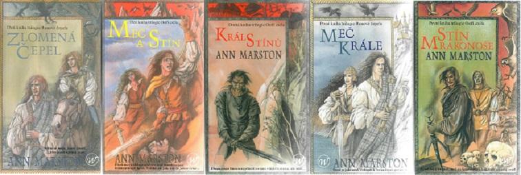 Knižní kolekce Ann Marston - 5x kniha