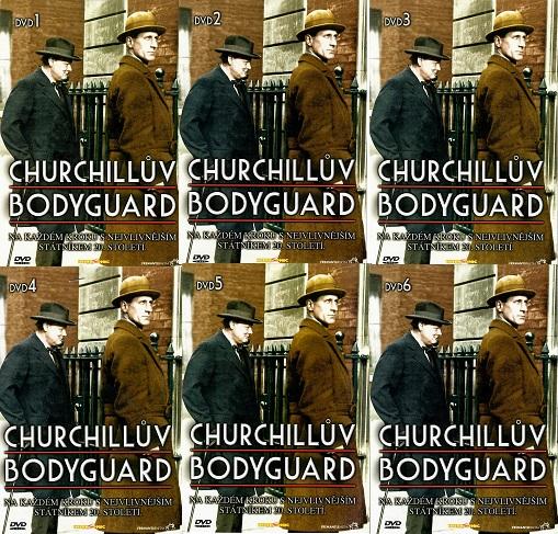 Kolekce Churchillův Bodyguard - 6x DVD