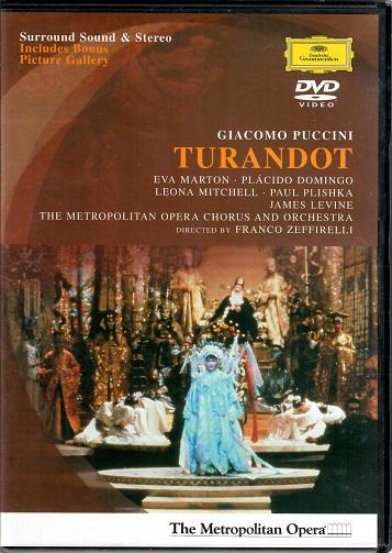 Turandot: Gicomo Puccini ( plast ) DVD