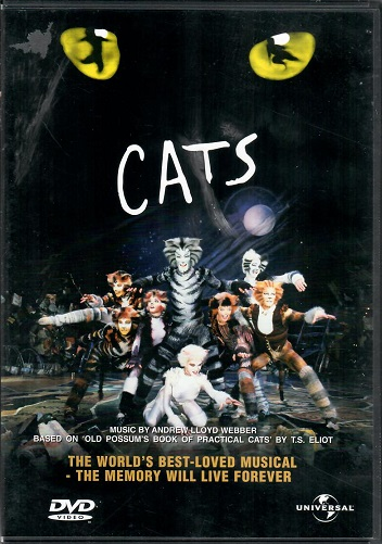 Cats ( plast ) DVD
