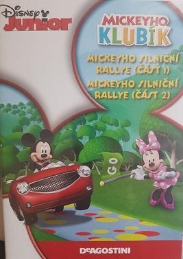Mickeyho klubík Mickeyho silnični rallye 1,2-DVD plast