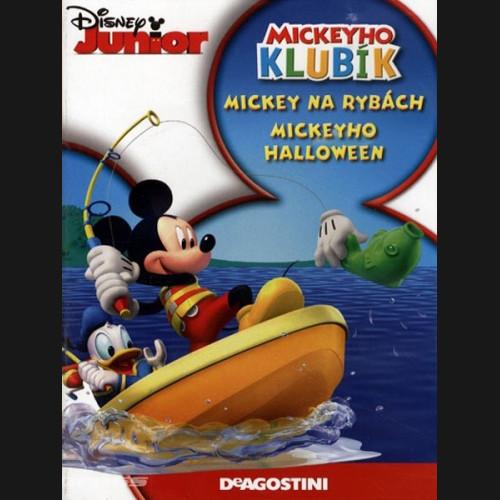 Mickeyho klubík Mickey na rybách, Mickeyho halloween-DVD plast