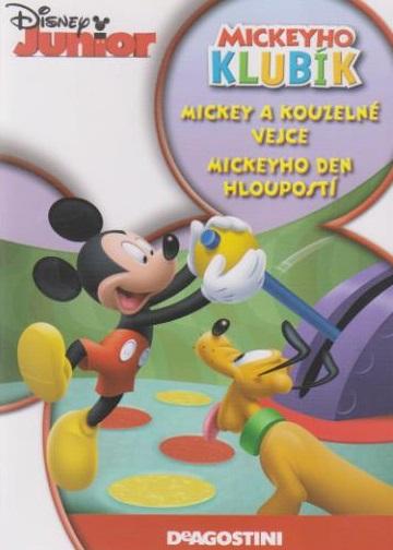Mickeyho klubík Mickeyho kouzelné vejce, Mickeyho den hloupostí - DVD plast