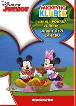 Mickeyho klubík Minnie pořádá piknik, Minnie řeší záhadu - DVD plast
