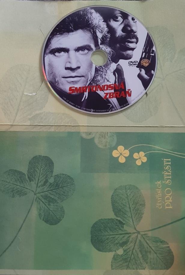 Smrtonosná zbraň - DVD (dárkový obal)