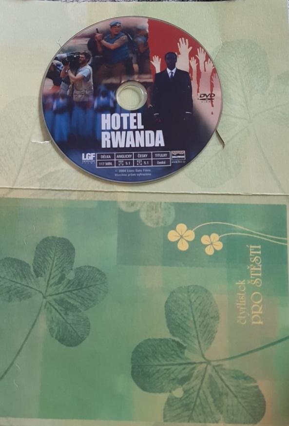 Hotel Rwanda - DVD (dárkový obal)
