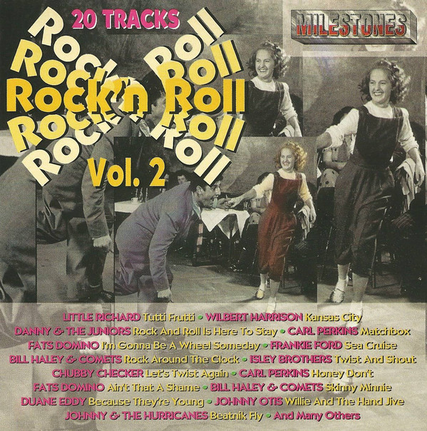 20 Milestones Of Rock'n Roll Vol. 2 - CD