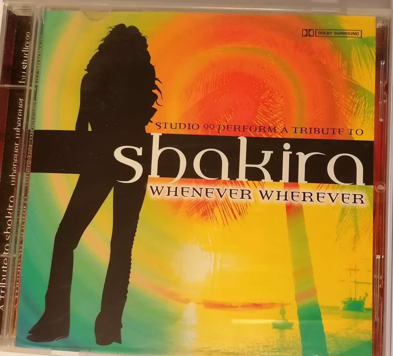 Shakira - Whenever Wherever - CD