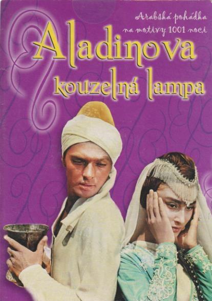 Aladinova kouzelná lampa - DVD