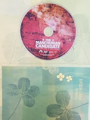 Mandžuský kandidát/The Manchurian Candidate-DVD v dárkovém obalu