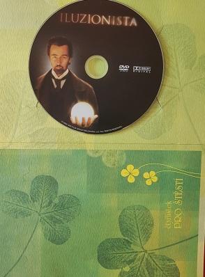 Iluzionista DVD v dárkovém obalu
