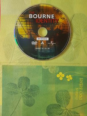 Agent bez minulosti/The bourne identity/-DVD/v dárkovém obal/